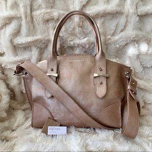 Alexander McQueen Rare Pink Metallic Legend Bag